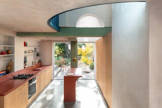 In London, an Old Victorian Becomes a Wonderland of Colored Concrete