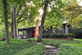 A Restored Midcentury Gem in Georgia With a Slim Aarons-Style Pool Asks $1.6M