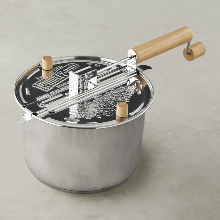 Whirley Stainless Steel Induction Popcorn Maker By