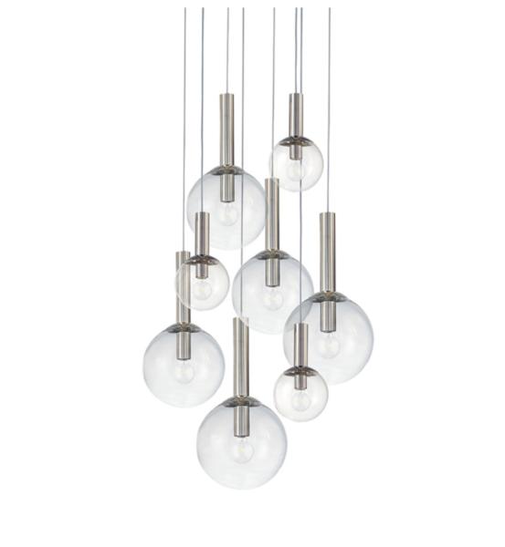 Sonneman Bubbles Multi-Light Pendant