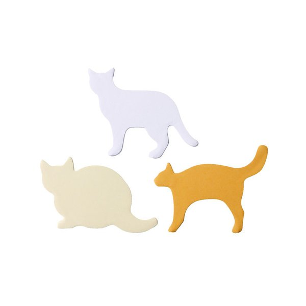 Muji Stickies Memo - Cats