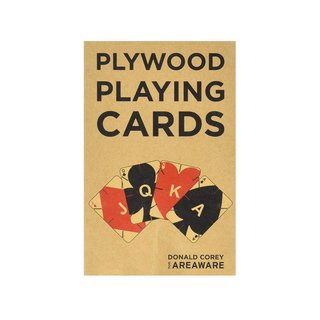 Areaware Plywood Playing Cards