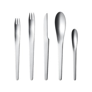 Georg Jensen Arne Jacobsen 5-Piece Cutlery Set