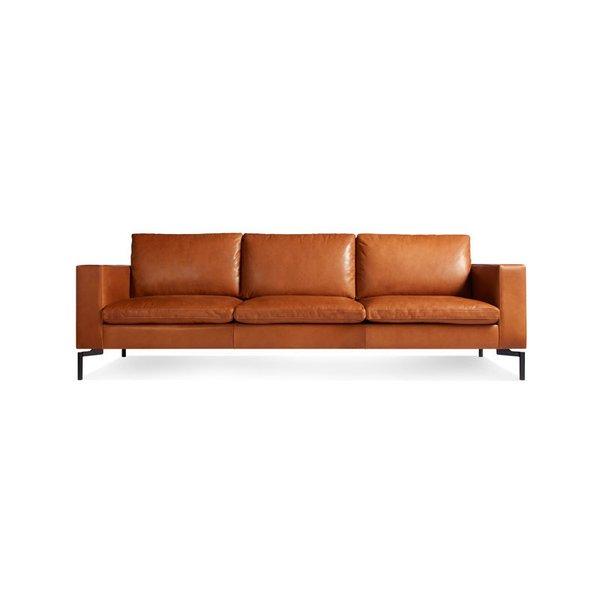 "Blu Dot New Standard 92"" Leather Sofa"