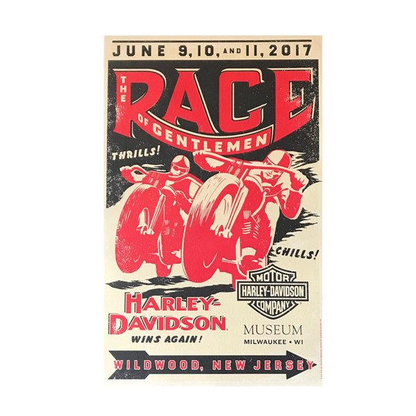 The Race of Gentlemen 6th Annual Poster