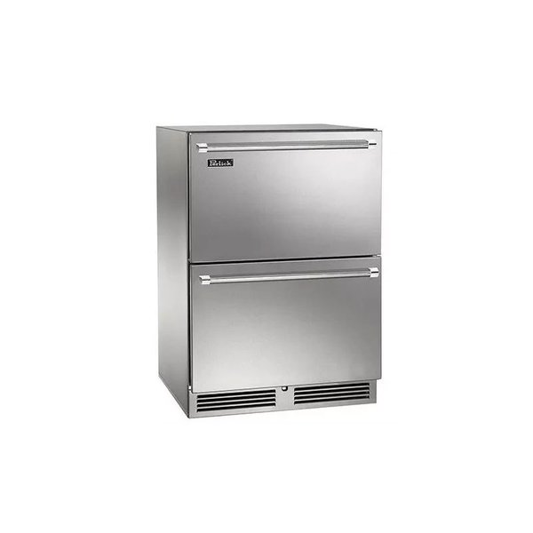 """Perlick 24"""" C-series Indoor Refrigerator Drawers"""