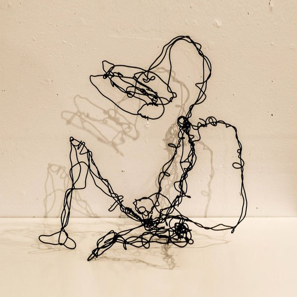 Wire Sculptures by Dan Criblez