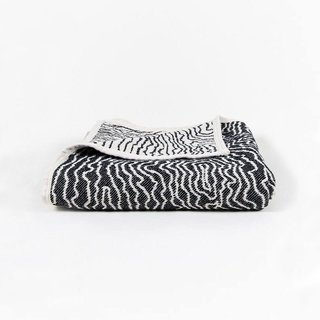 CoopDPS Earth Cotton Blanket – Black/White