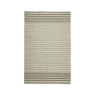 Rejuvenation Striped Dhurrie Flatweave Rug