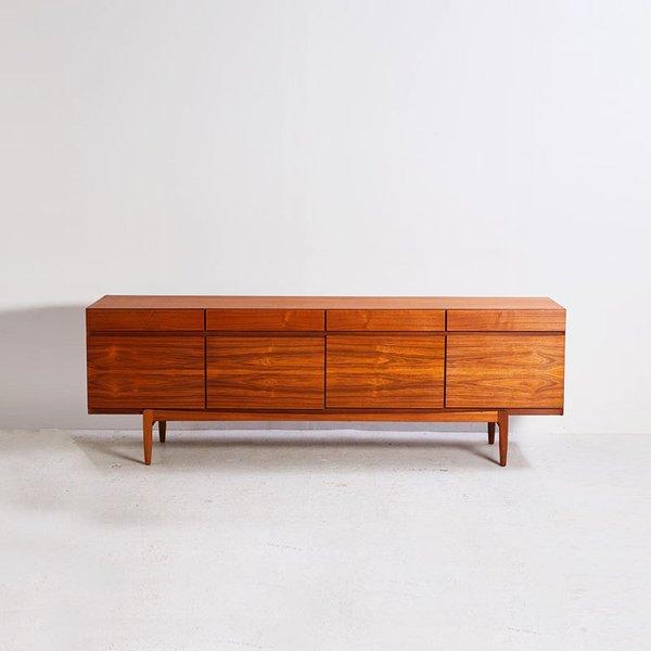 Faarup Møbelfabrik Model 66 Teak Sideboard, Vintage
