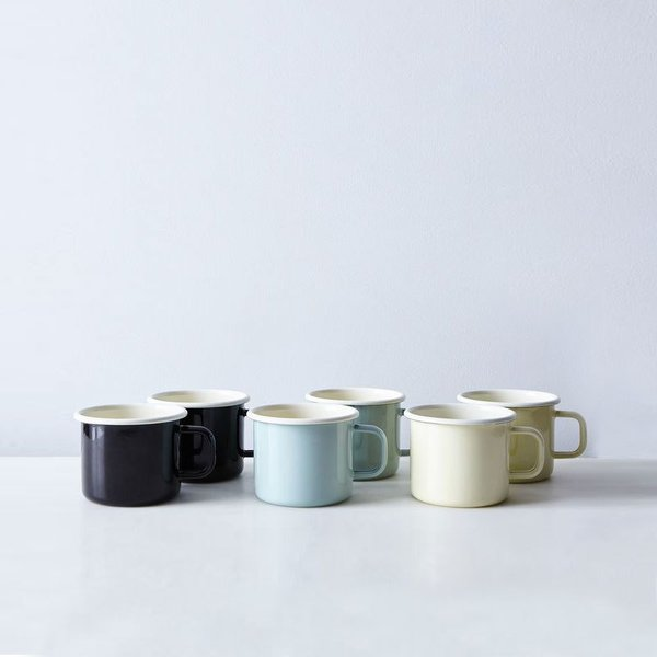 Dexam Home Enamel Mug (Set of 2)