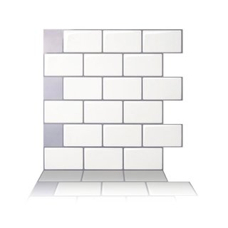 Tic Tac Tiles - Peel and Stick Wall Tile