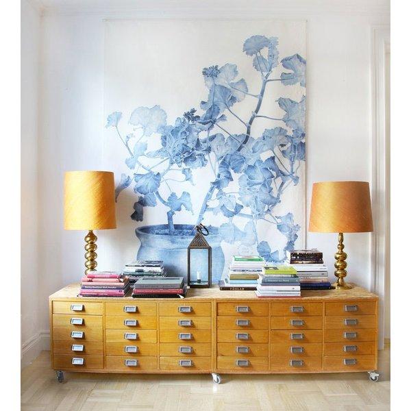 Wall Decor Geranium by Emma Sjödin