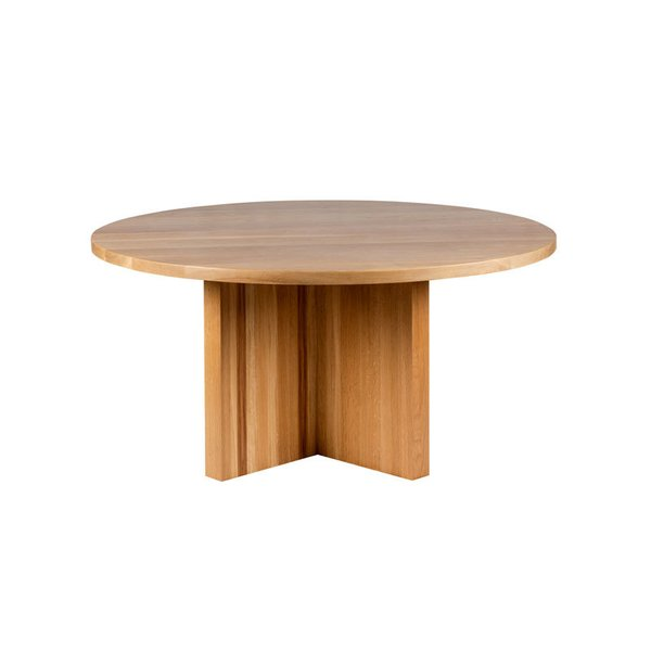 Hart Concrete Design Solid X Round Dining Table