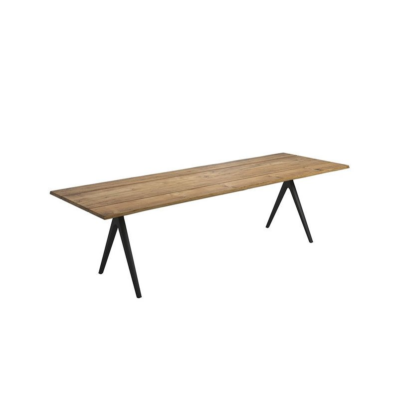 Gloster Raw Split Dining Table