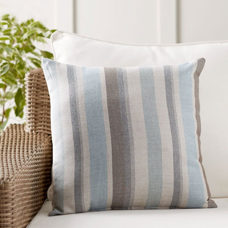 Pottery Barn Sunbrella Dayren Stripe Indoor/Outdoor Pillow by ...