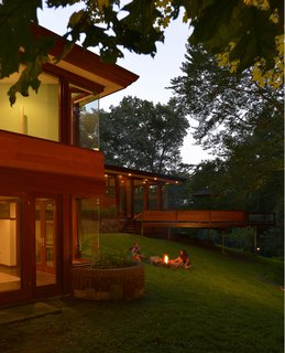 A Renovated Usonian Gem Shows Off Modern Organic Architecture - Photo 2 of 5 -