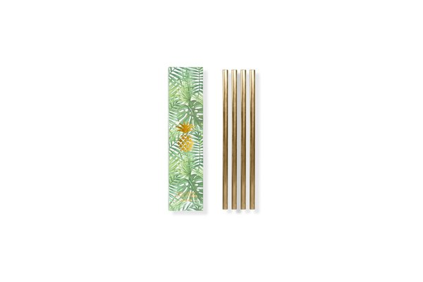 METAL STRAWS | 5 IN.