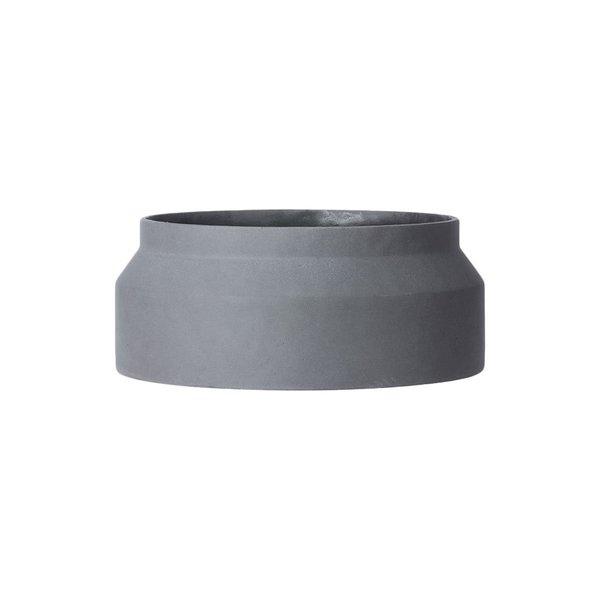 Ferm Living Dark Grey Concrete Pot