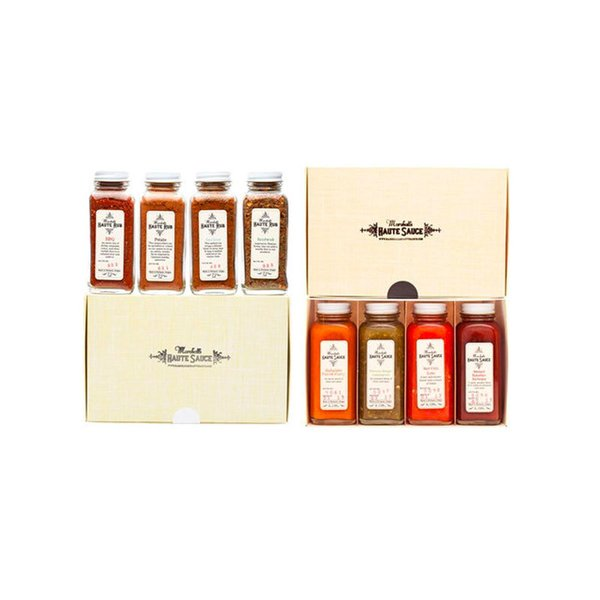 Marshall's Haute Sauce Hot Sauce & Spice Rub Gift Set