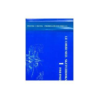 Le Corbusier Sketchbooks, Vol. 1, 1914-1948