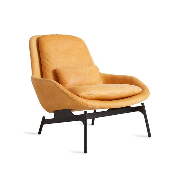Blu Dot Field Leather Lounge Chair By Blu Dot Dwell