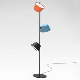 Marset tam tam 3 light floor lamp by ylighting dwell aloadofball Choice Image