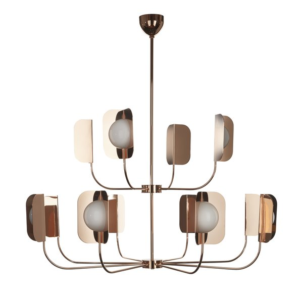 MM Lampadari Leaf Chandelier