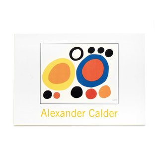Alexander Calder Note Card Box