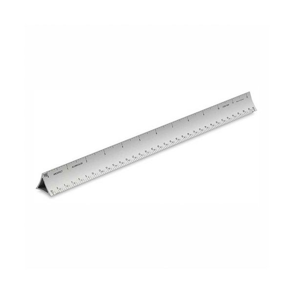 Alumicolor Architect's Ruler