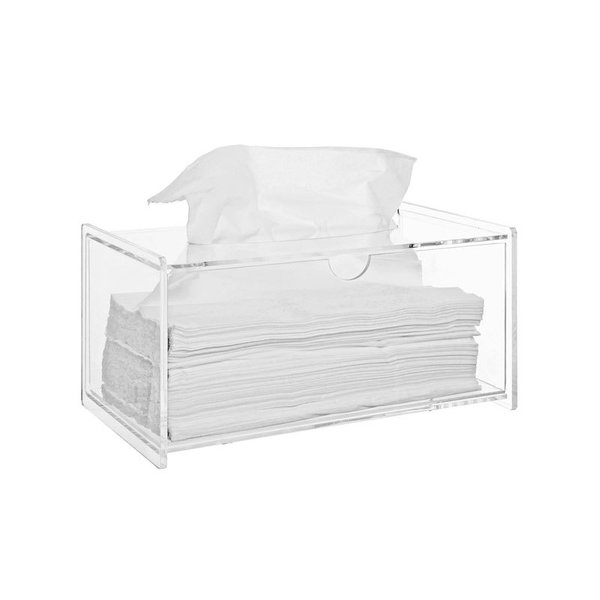 Muji Clear Acrylic Tissue Box
