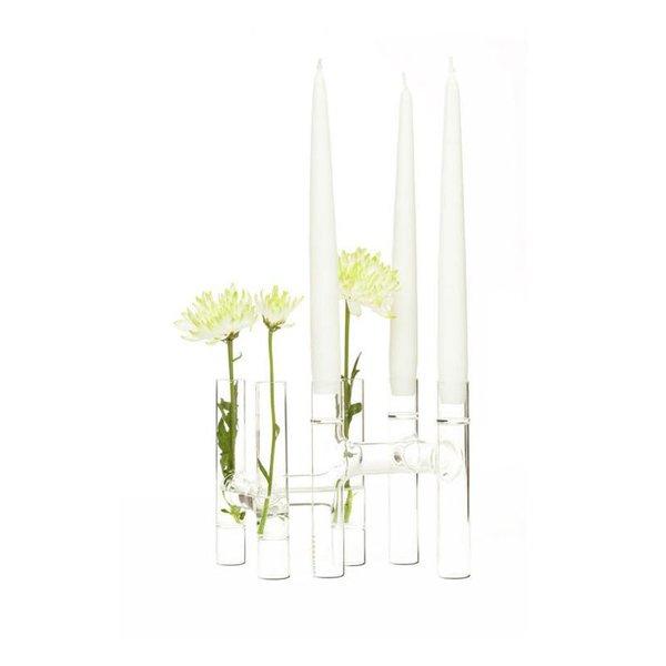 Fferrone Trios Candelabra/Bud Vase (Set of 2)