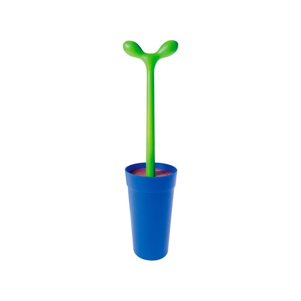 Alessi Merdolino Toilet Brush – Blue