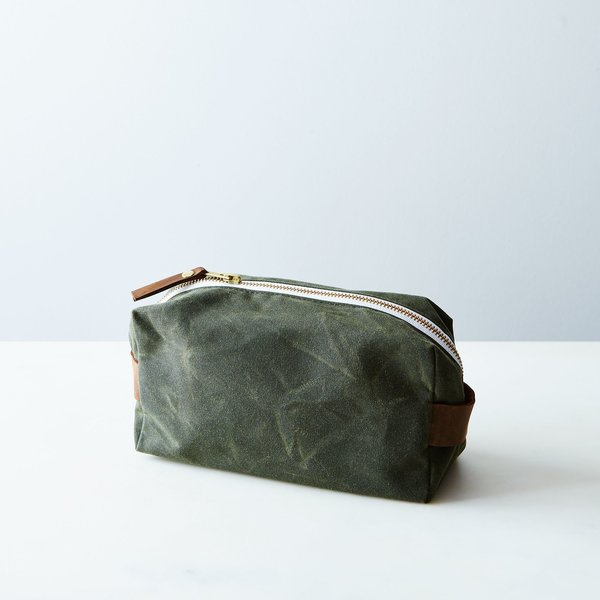 Newton Supply Co. Waxed Canvas Toiletries Pouch