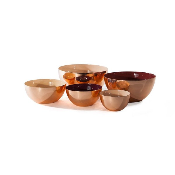 Hawkins New York Louise Bowls (Copper)