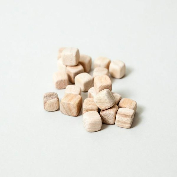 Camphor Wood Mini Cubes