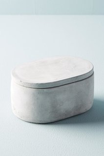 Sedra Cement Bathroom Canister