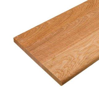 Red Oak Solid Edge Glued Tread