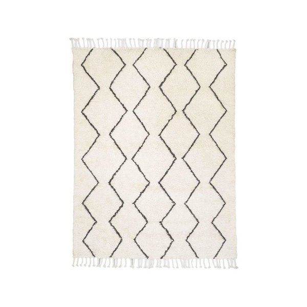 West Elm Souk Wool Rug – Ivory