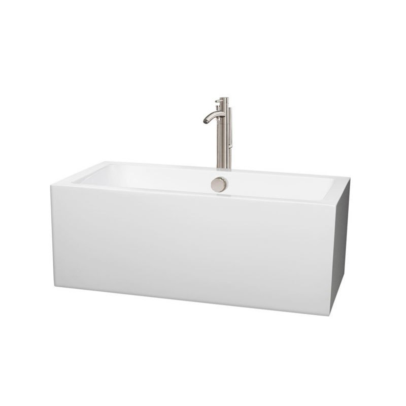 Wyndham Collection Melody Soaking Tub