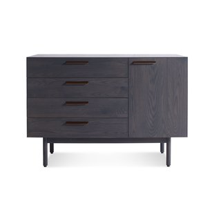 Blu Dot Shale 4 Drawer/1 Door Credenza