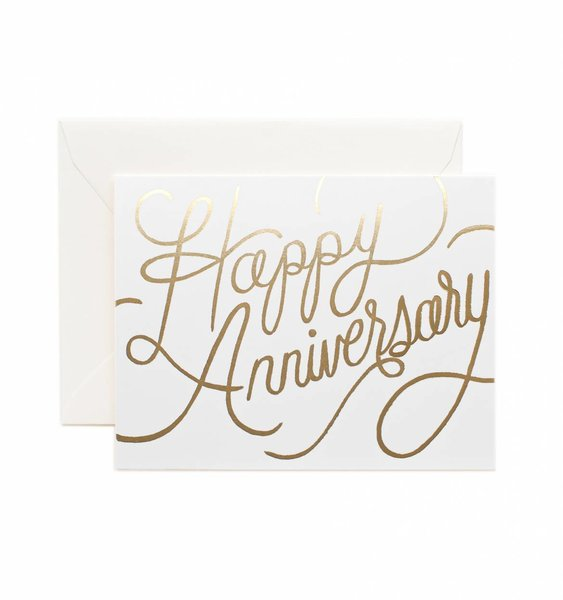 Happy Anniversary Greeting Card by Rifle Paper Co.