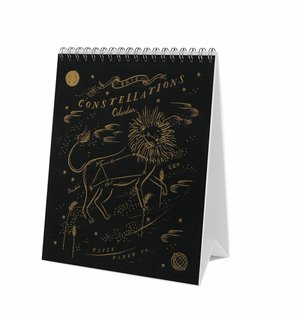 2018 Constellations Desk Calendar by Rifle Paper Co.