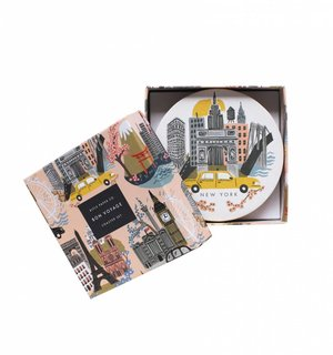 Cities Coaster Set by Rifle Paper Co.
