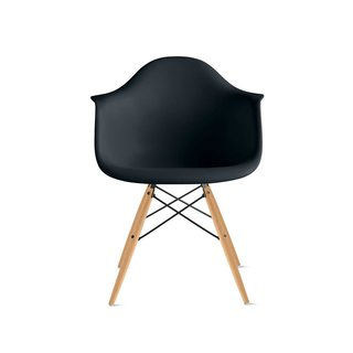Eames Molded Plastic Armchair with Dowel Base