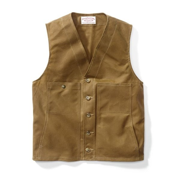 Filson Oil Tin Cloth Vest