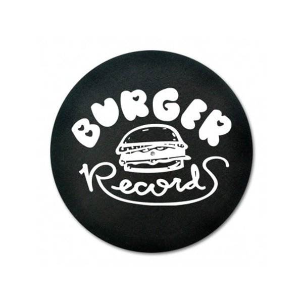 Burger Records Slip Mat (Black)