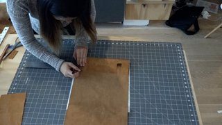 Dwell Made Presents: DIY Mini Copper Desk With Leather Sling - Photo 5 of 14 -
