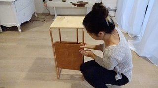 Dwell Made Presents: DIY Mini Copper Desk With Leather Sling - Photo 12 of 14 -