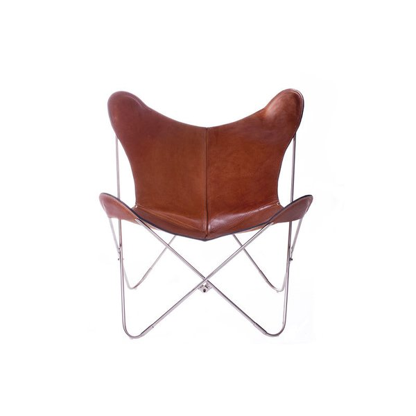BIG BFK Polo London Butterfly Leather Chair